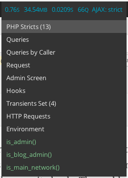 query-monitor-dropdown